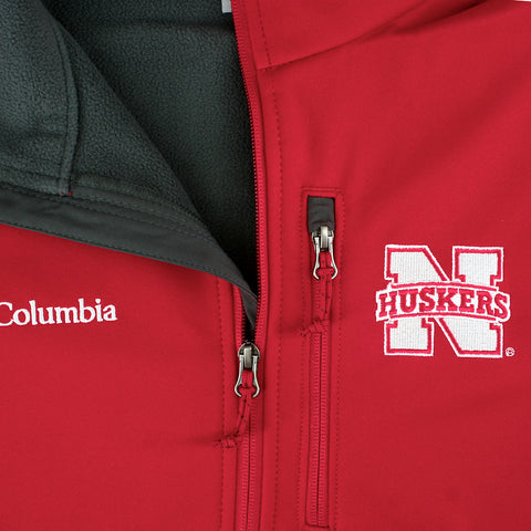 Shop Mens Nebraska Huskers Outerwear by Columbia Jacket
