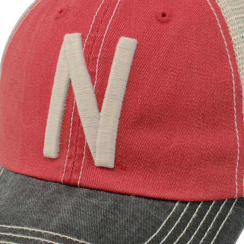 Nebraska Huskers Faded Trucker Hat