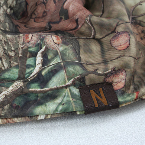 Hunters Outdoorsman Mossy Oak Nebraska Skull Cap