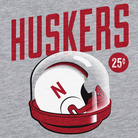 Nebraska Huskers Vintage Toy Screen Print