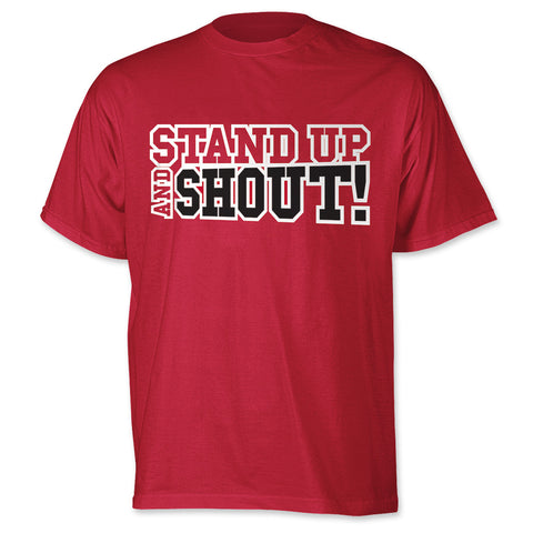 Stand Up and Shout Mens T-Shirt
