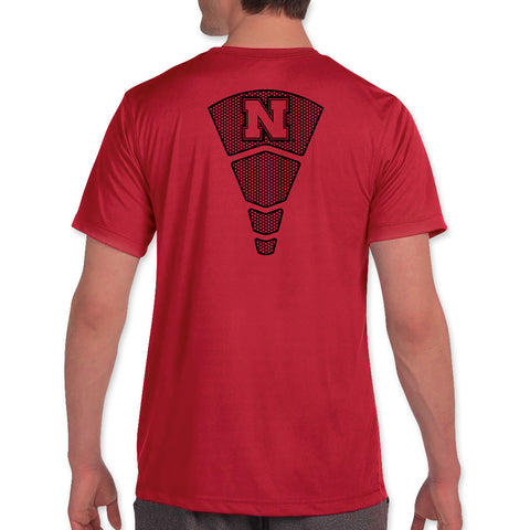 Mens Nebraska Huskers Elite Performance Tee