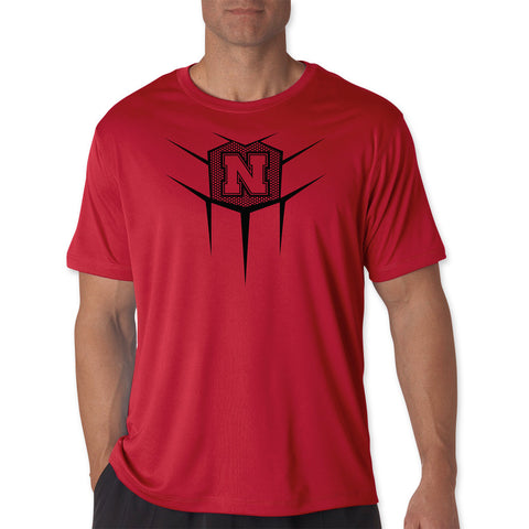 Mens Nebraska Football Elite Performance Shirt