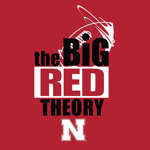 Big Red Theory Huskers Tee Shirt