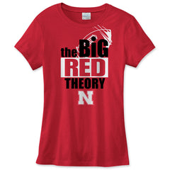 Big Red Theory Nebraska Huskers Tee Shirt