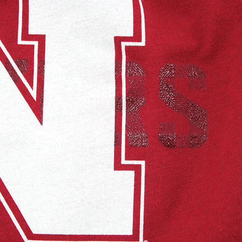 University of Nebraska Youth Boys Tee by Adidas