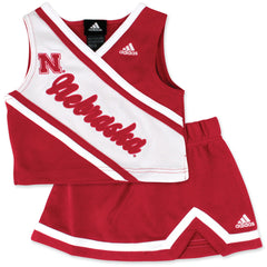Nebraska Girls Football Cheerleader Outfit