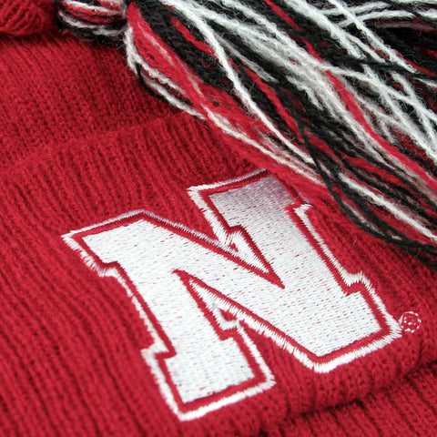Nebraska Huskers Youth Kids Stocking Cap