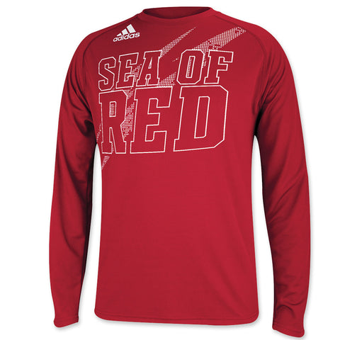 Sea of Red Youth Boys Performance Long Sleeve Shirt