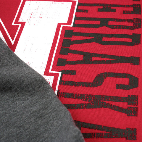 Nebraska Huskers Youth Varsity Long Sleeve Tee