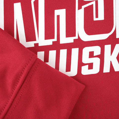 Youth Boys Nebraska Huskers Performance Long Sleeve Tee