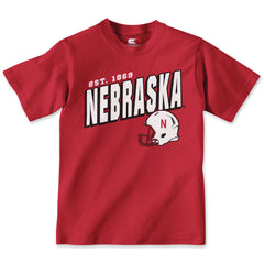 Youth Boys Nebraska Football Performance Tee