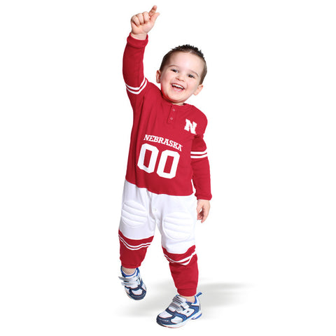 Nebraska Huskers Football Toddler Uniform