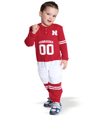 Nebraska Huskers Toddler Footy Uniform Suit