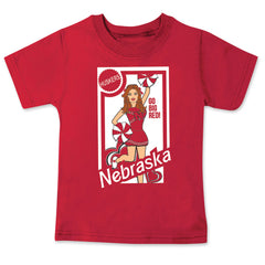 Nebraska Huskers Cheerleader Tee Shirt