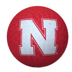 Nebraska Huskers Rubber Playground Ball