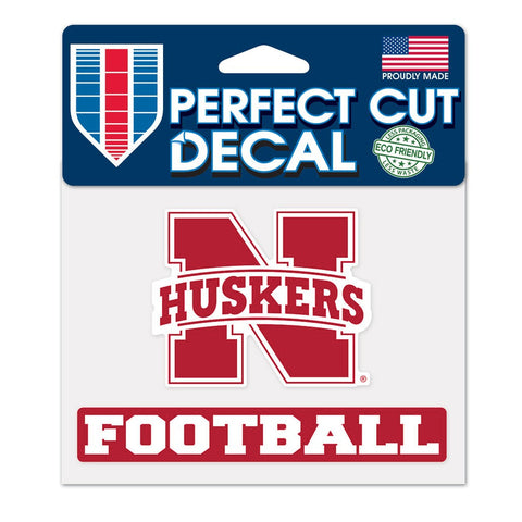 Nebraska Huskers Vinyl Cut Auto Decal