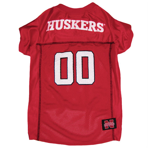 Huskers Dog Football Jersey Tee
