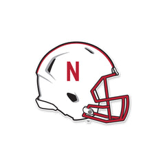 Nebraska Huskers Football Helmet Car Auto Decal