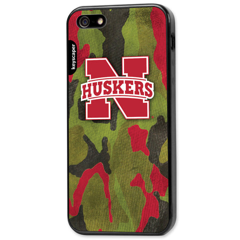 University of Nebraska Camo Cell Phone Case