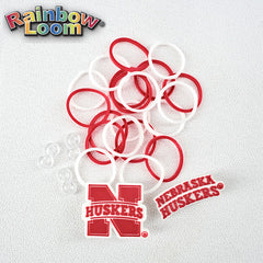 Nebraska Huskers Rainbow Loom Bands