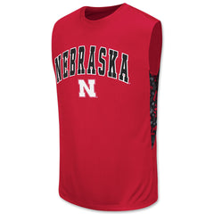 Nebraska Huskers Mens Athletic Sleeveless Tee