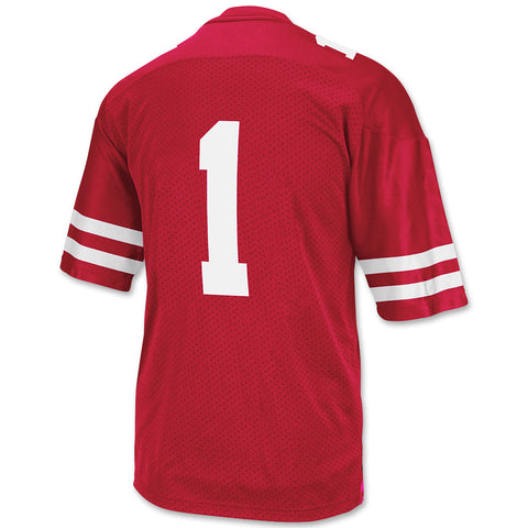 Nebraska Huskers Red #1 Football Jersey