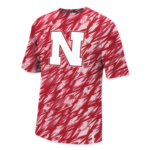 Nebraska Football Adidas Training Crew