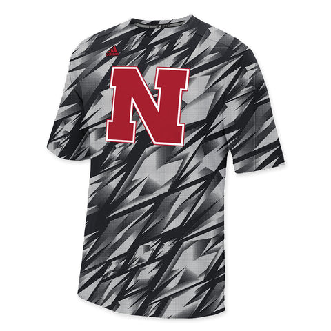 Nebraska Football Adidas Performance Training Crew