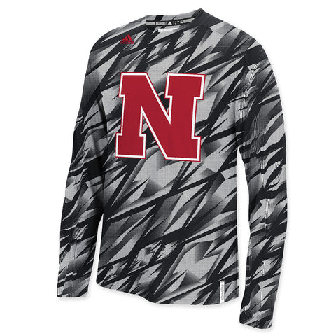 Nebraska Football Adidas Performance Tee