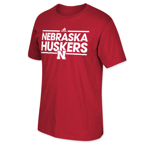 Red University of Nebraska Tee