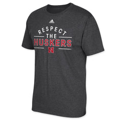 Respect the Huskers Adidas Tee
