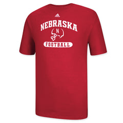 Nebraska Huskers Athletic Football Tee