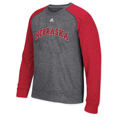 Nebraska Ultimate Crew by Adidas - LS - Black