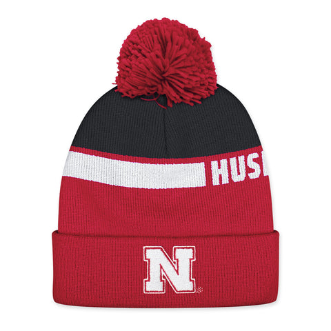 Nebraska Huskers Football Players Cuff Knit Hat
