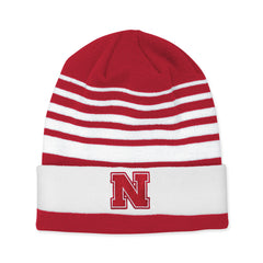 Cuffed Nebraska Knit Red Adidas Red Beanie