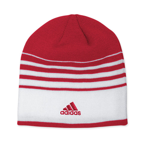 Official Coaches Knit Beanie by Adidas - Red