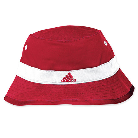 Huskers Football Bucket Hat by Adidas