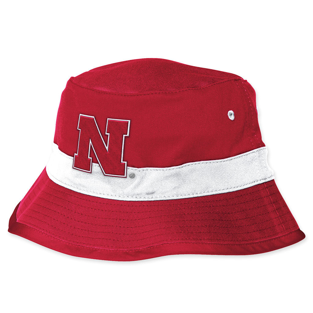 c47c994f82c Nebraska Huskers Bucket Hat by Adidas ...