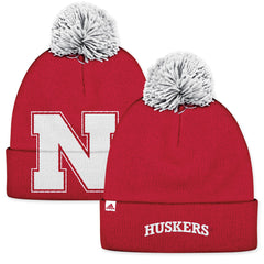 University of Nebraska Red Knit Stocking Hat