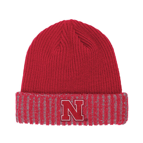 Nebraska Huskers Cuff Knit Red Hat