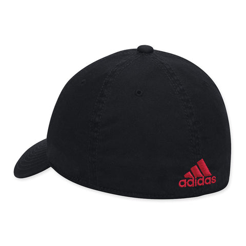 University of Nebraska Fitted Hat by Adidas