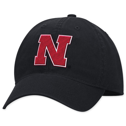 Nebraska Huskers Mens Fitted Hat by Adidas