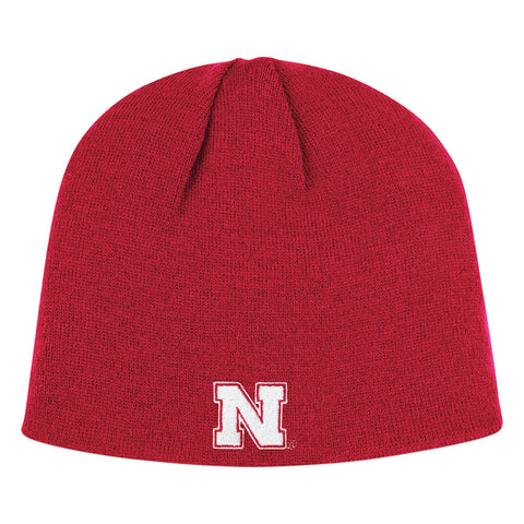 Nebraska Huskers Red Winter Beanie