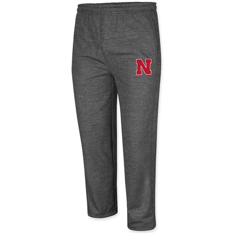 Mens Nebraska Huskers Poly Performance Pants