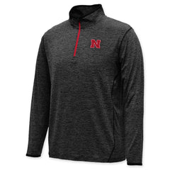 Huskers Ultimate Action Performance 1/4 Zip - LS - Grey