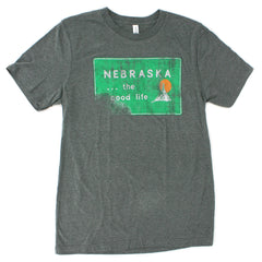 Welcome to Nebraska RZR REVO-Soft Tee - SS - Grey