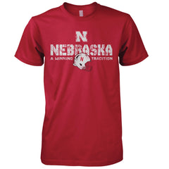 Nebraska Football Combat Tee by Red Zone