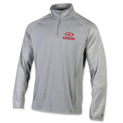 Nebraska Football 1/4 Zip Pullover Performance by Champion
