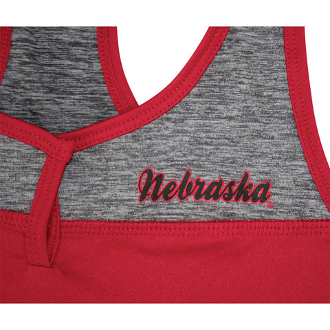 Womens Nebraska Racerback tank top